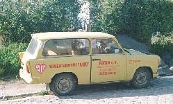 erster Trabbi der AWO Rügen