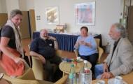 AWO Fachtag 12.9.12 Bild 20 AWO Fr. Scharsach, Hr. Waedow, Fr. Wulff, Hr. Trömel