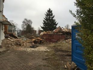 Kita Sassnitz - Abriss 16.12.2015