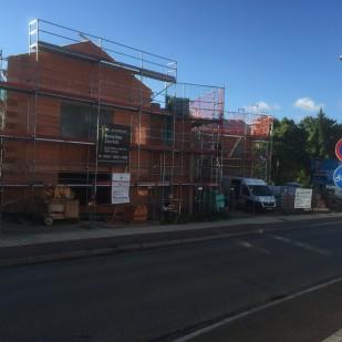 Kita Sassnitz - aktueller Baufortschritt Aug 2016